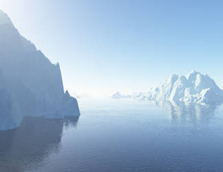 370 Icebergs 01 by Tigers-stock