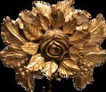 612 Rose Boss Cutout