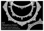 615 Round Lace Frames
