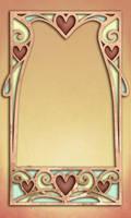 828 Heart Frame