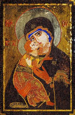 893 Madonna Mosaic