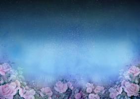 1028 Rose Garden At Night