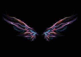 1059 Pink Aurora Wings