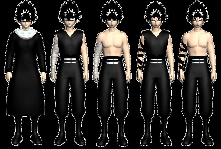 hiei's models demo by GAME-ART-EDITED-ART