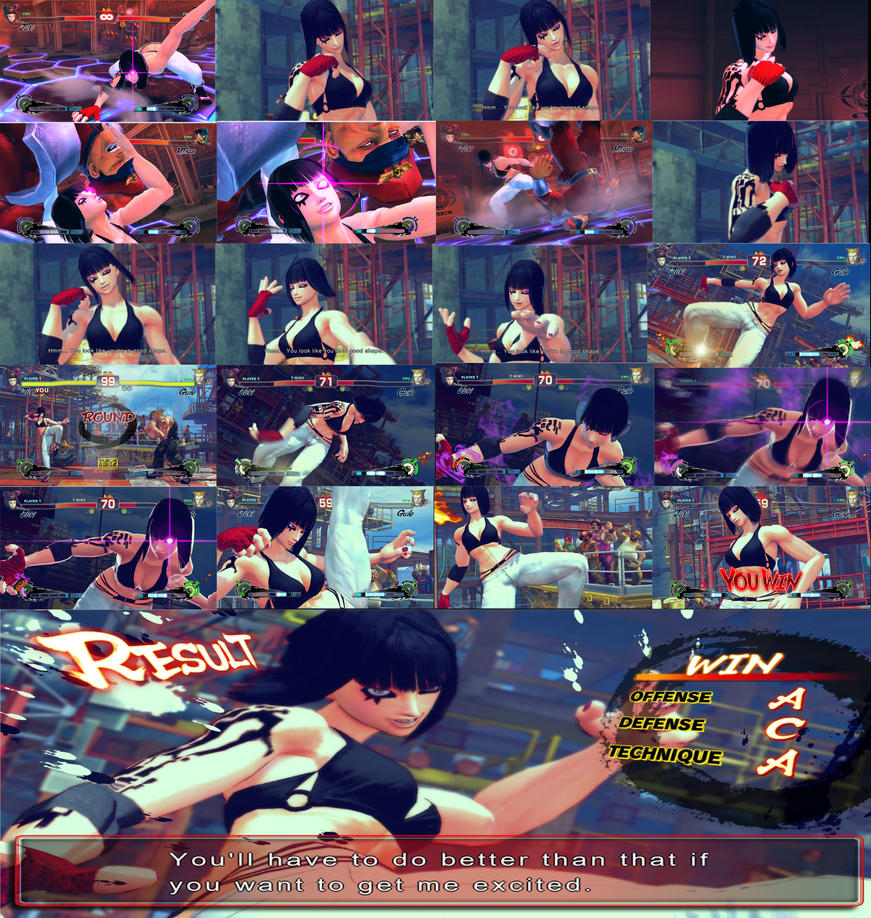 juri han mod faith poster by GAME-ART-EDITED-ART
