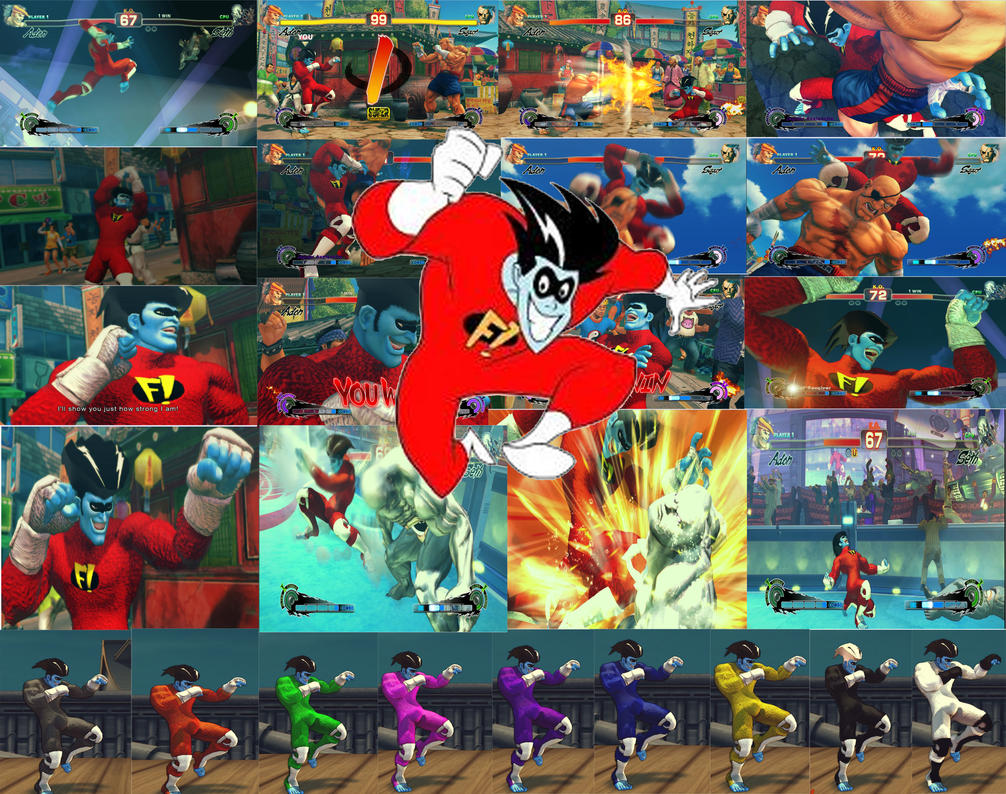 Adon mod Freakazoid poster by GAME-ART-EDITED-ART