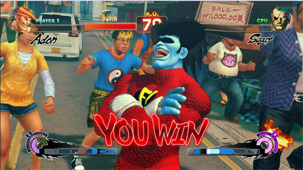 Adon mod Freakazoid by GAME-ART-EDITED-ART