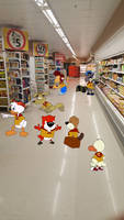 Gift Art: Shopping At Coles by RingoDingoWingo234