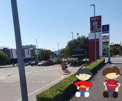 Gift Art: Walking By The KFC
