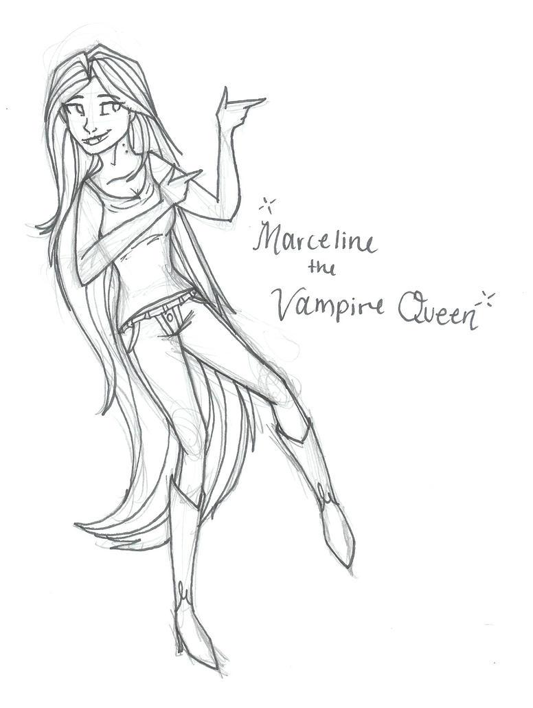 Marceline the Vampire Queen by AshleeTheEpic on DeviantArt