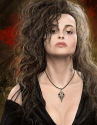 Bellatrix Lestrange by wherethedoodleslive