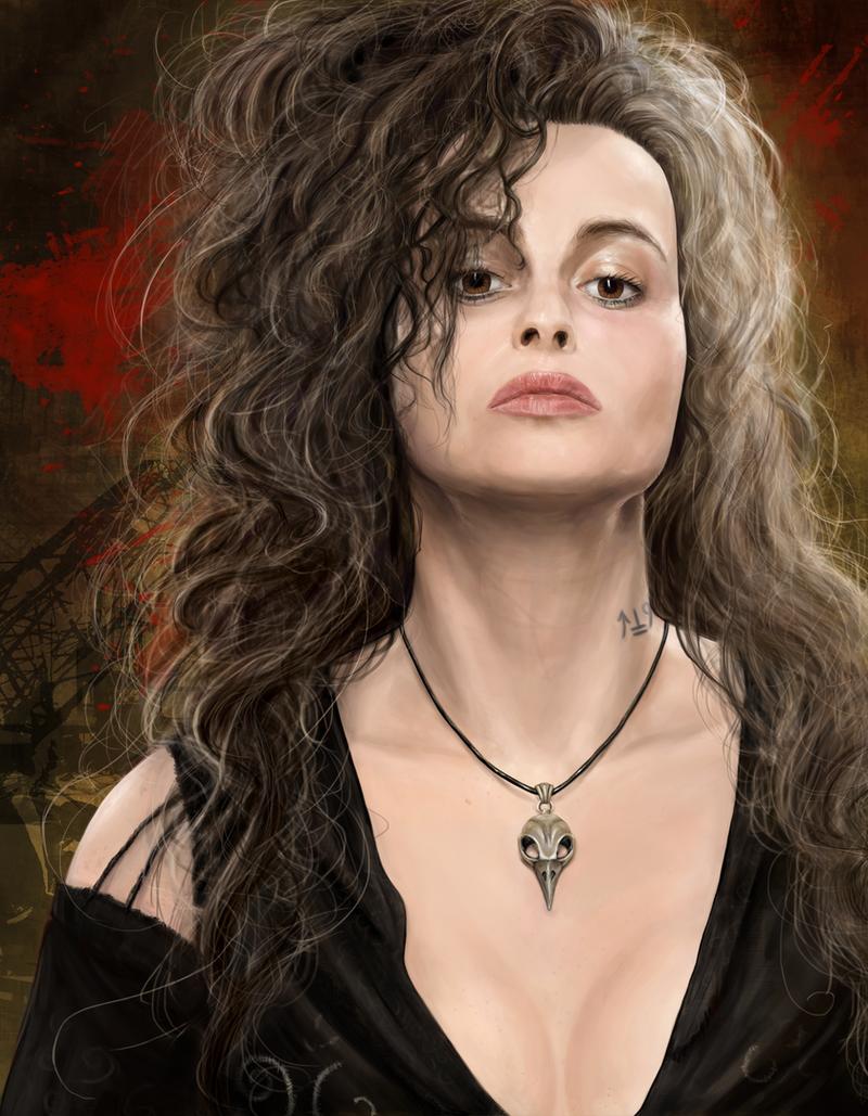 Bellatrix Lestrange by symphonymilner on DeviantArt