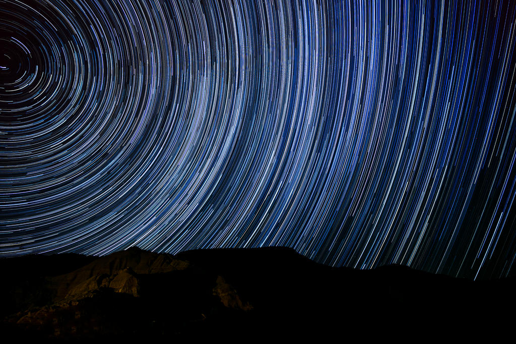 Star Trails at Palo Duro Canyon by ejmcgowan