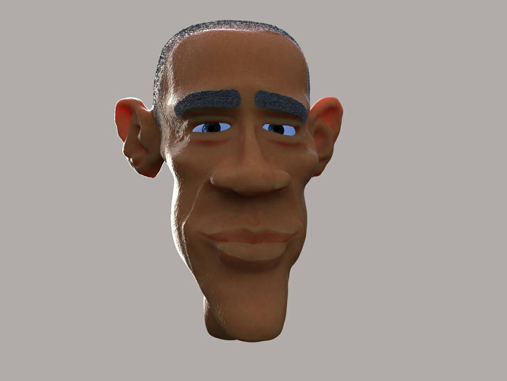 barack head by mickybad