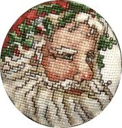 Holly Santa by syniac