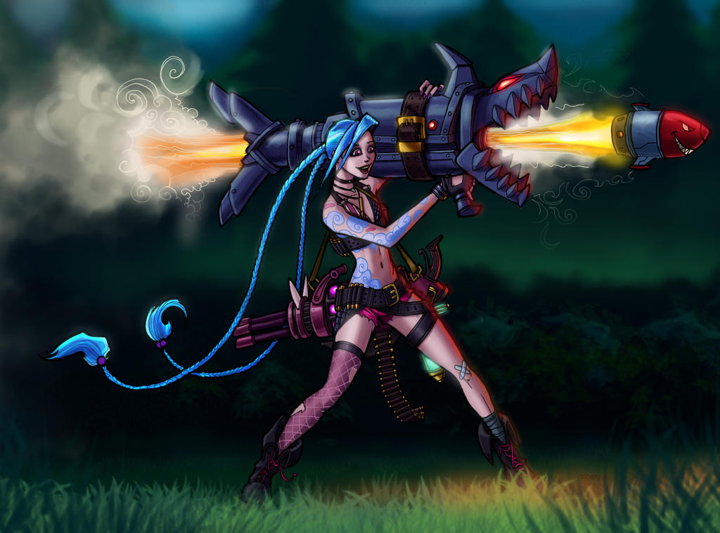 Jinx - Shoot Faster by PulseBoy