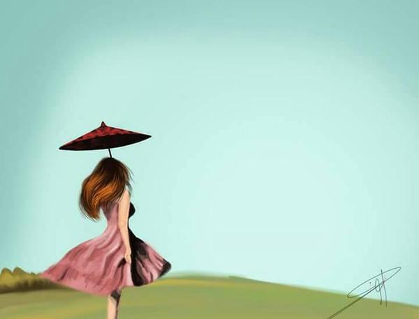 alone by Eman-ammar