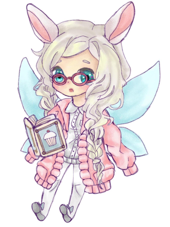 chibi anime girls fairy -#main