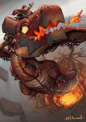 A ride on dragon