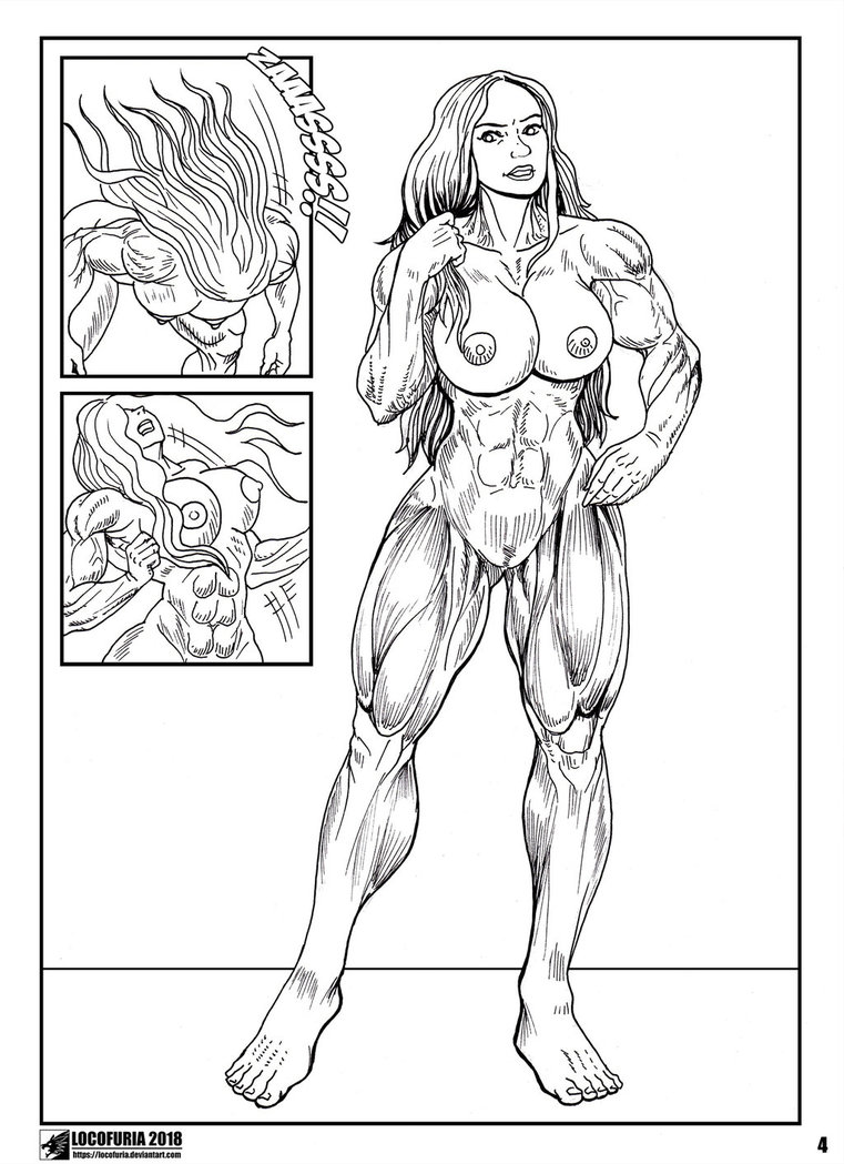 Modern She-Hulk 4 by SHrrrrrriiipfan