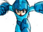 Megaman - Sketch