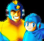 Megaman and Rockman
