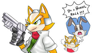 Fox McCloud by CheloStracks