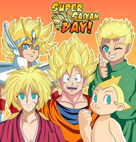 Super Saiyan Day by CheloStracks