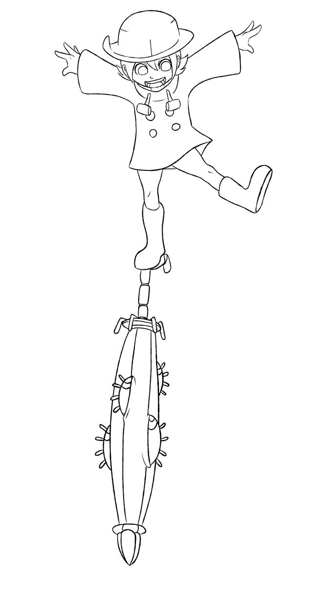Line Art Umbrella : Umbrella skullgirls lineart by chelostracks on