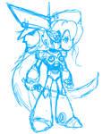 Megaman X4 [Sketch]