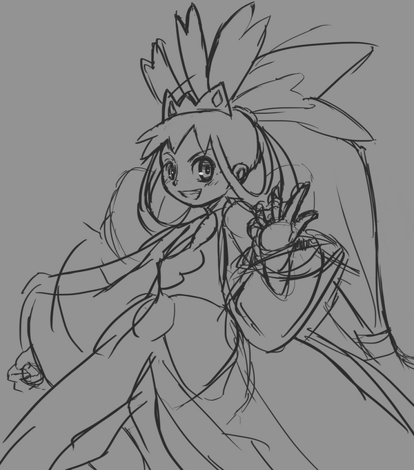 Champion Iris [Sketch] by CheloStracks