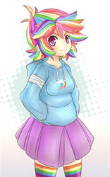 Rainbow Dash by CheloStracks