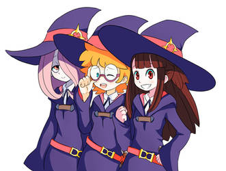Little Witch Academia by CheloStracks