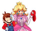 Mario and Peach~