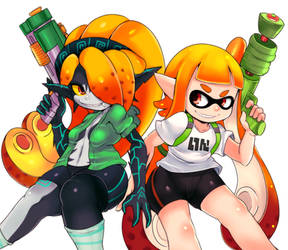 Squidna and Inkling
