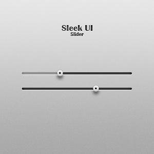 Sleek UI Slider by Friggog