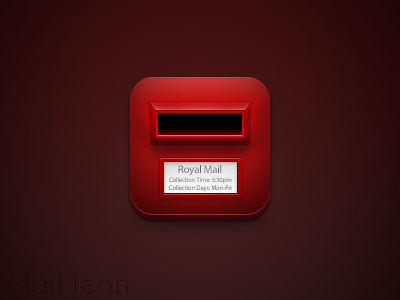 Mail Icon by Friggog