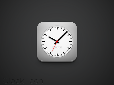 Clock Icon by Friggog