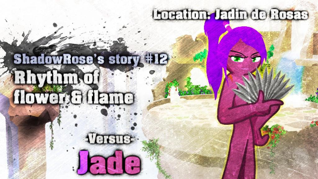 RHG#6 ShadowRose - Jade by C3WhiteRose