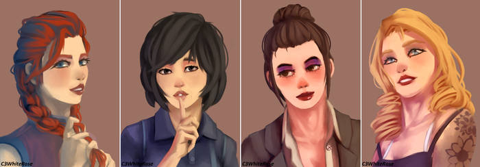 Dead by daylight girls.