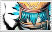 Azure Kite Stamp by kitvor