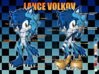 Lance Volkov Reference by LancerWolf13