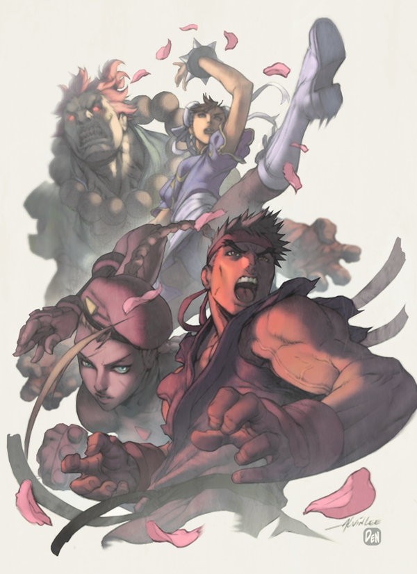 Street Fighter by DennisBell