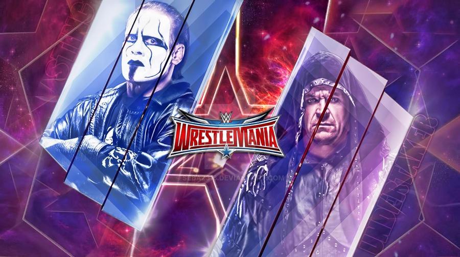 Sting Vs The Undertaker Wrestlemania 32 By Sebaz316