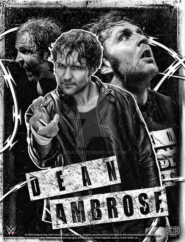 Dean Ambrose Phone Wallpaper By Sebaz316