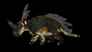 Styracosaurus by ultamateterex2