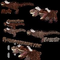 Tyrannosaurus Rex by ultamateterex2