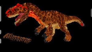 Allosaurus by ultamateterex2