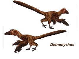 Deinonychus by ultamateterex2