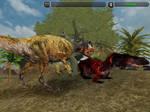 Torvosaurus vs Allosaurus Part 1